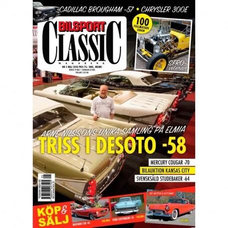 Bilsport Classic nr 5 2018