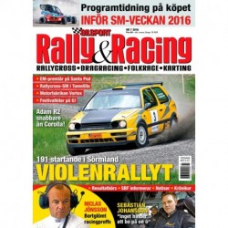 Bilsport Rally&Racing nr 7 2016