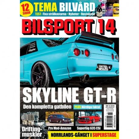 Bilsport nr 14 2018