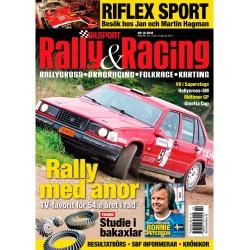 6 nr (1 dubbelnr) Bilsport Rally&Racing
