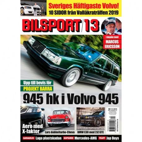 Bilsport nr 13 2019