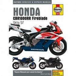 Honda CBR1000RR Fireblade 2004 - 2007