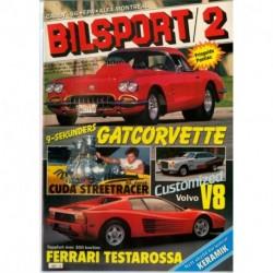 Bilsport nr 2  1985