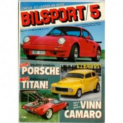 Bilsport nr 5  1985