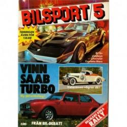Bilsport nr 5  1981