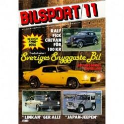 Bilsport nr 11  1982