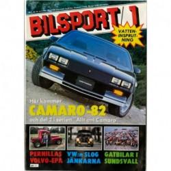 Bilsport nr 1  1982