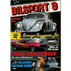 Bilsport nr 9  1982