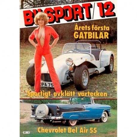 Bilsport nr 12  1979