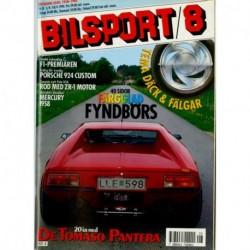 Bilsport nr 8  1990