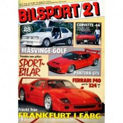 Bilsport nr 21  1987