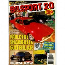 Bilsport nr 20  1995