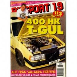Bilsport nr 19  1995