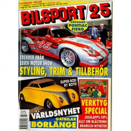 Bilsport nr 25  1994