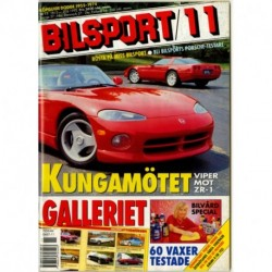 Bilsport nr 11  1993