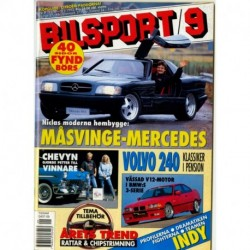Bilsport nr 9  1993