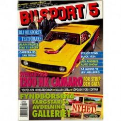 Bilsport nr 5  1993
