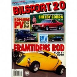 Bilsport nr 20  1992