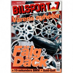 Bilsport nr 7  2003