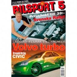 Bilsport nr 5  2002
