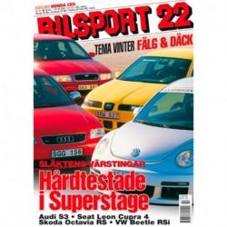 Bilsport nr 22  2001
