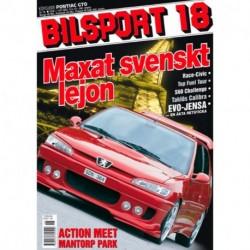 Bilsport nr 18  2001