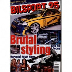 Bilsport nr 25  1999
