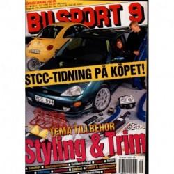 Bilsport nr 9  1999