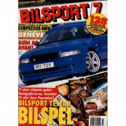 Bilsport nr 7  1998