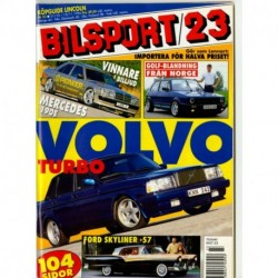 Bilsport nr 23  1996