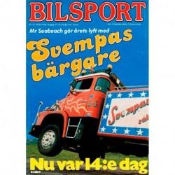Bilsport nr 13  1978