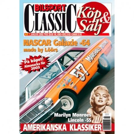 Bilsport Classic nr 1  2003