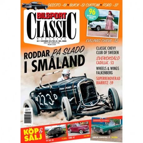 Bilsport Classic nr 11 2016