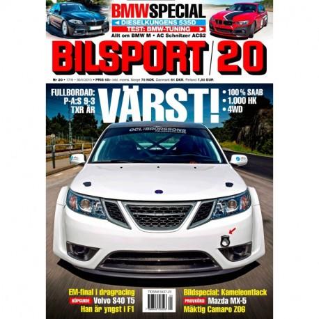 Bilsport nr 20 2015