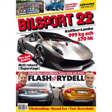 Bilsport nr 22 2010