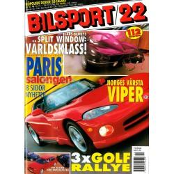 Bilsport nr 22  1998
