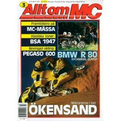 Allt om MC nr 3  1991