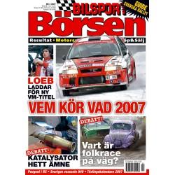 Bilsport Börsen nr 2 2007