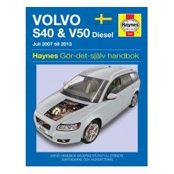 Volvo S40 & V50 diesel 2007-2013