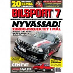 Bilsport nr 7 2014
