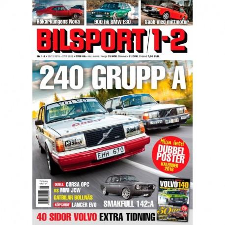 Bilsport nr 1 2016