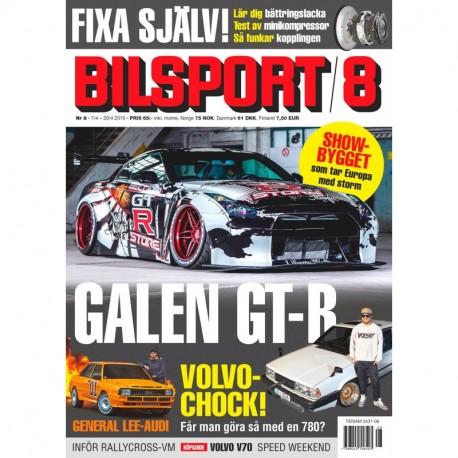 Bilsport nr 8 2016