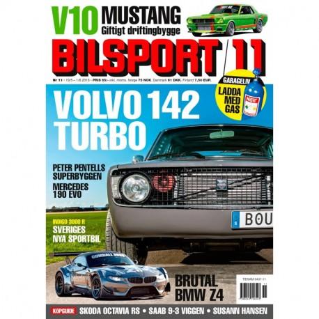 Bilsport nr 11 2016
