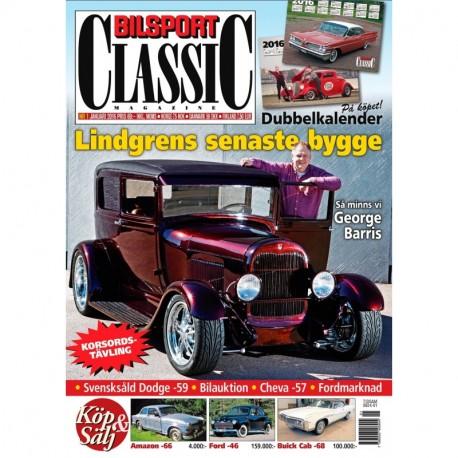 Bilsport Classic nr 1 2016