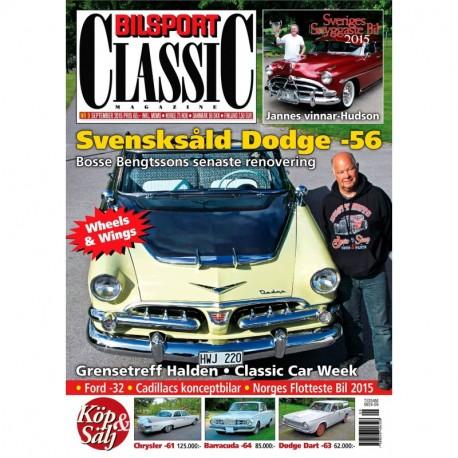 Bilsport Classic nr 9 2015