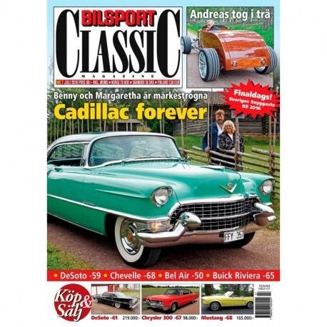 Bilsport Classic nr 7 2016